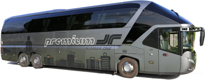Rent a Premium Class Number One bus