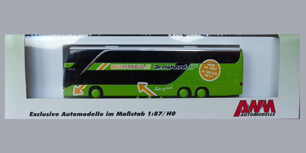 Busmodell Setra S431DT MeinFernbus