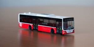 bus model MAN Lion's City E6, 56A